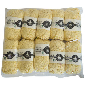 Mayflower Cotton 8/8 Organic Økologisk - Egyptisk bomull - 2. sortering