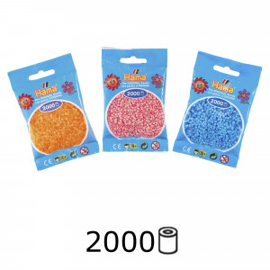Hama Mini Perler 2000 stk